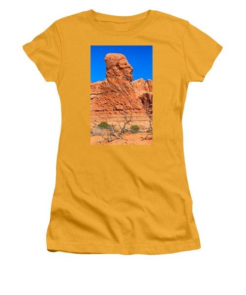 Natural Sculpture Women's T-Shirt (Junior Cut) by John M Bailey