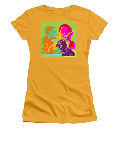 Obama Women's T-Shirt (Junior Cut) by Jean luc Comperat