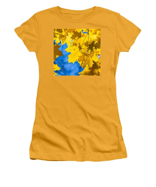 October Blues 8 - Square Women's T-Shirt (Junior Cut) by Alexander Senin