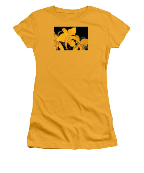 Orchid 5 Women's T-Shirt (Junior Cut) by Andy Shomock