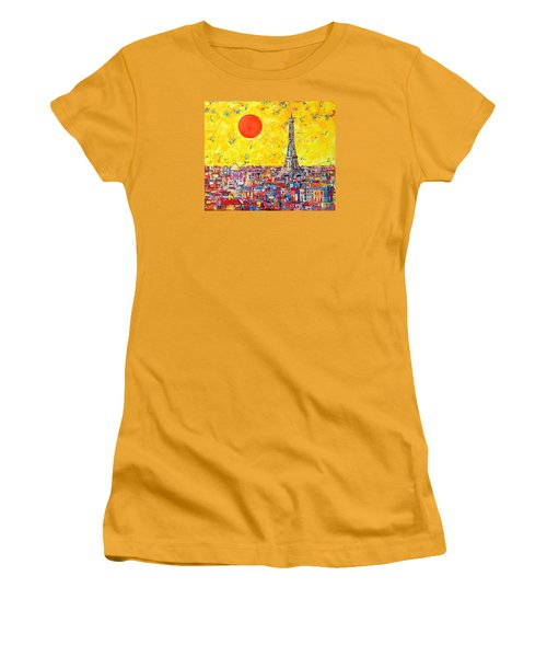 Paris In Sunlight Women's T-Shirt (Athletic Fit)