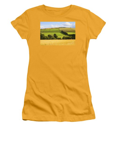 Pastoral Scene Women's T-Shirt (Athletic Fit)
