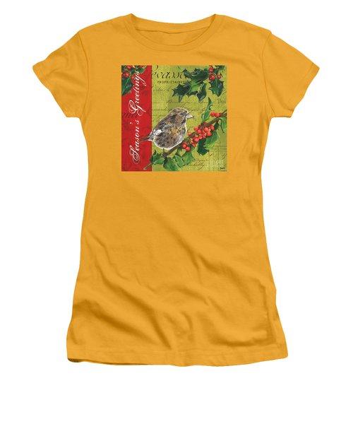Peace On Earth 1 Women's T-Shirt (Junior Cut) by Debbie DeWitt