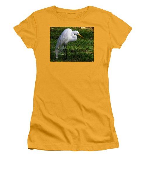 Posing Prettily Women's T-Shirt (Athletic Fit)