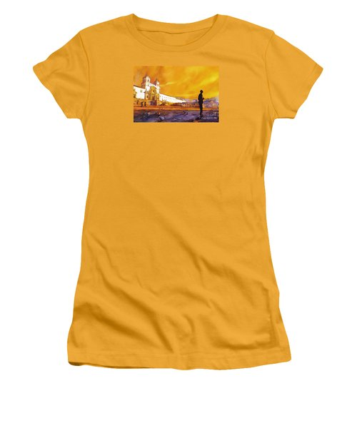 Quito Sunrise Women's T-Shirt (Athletic Fit)