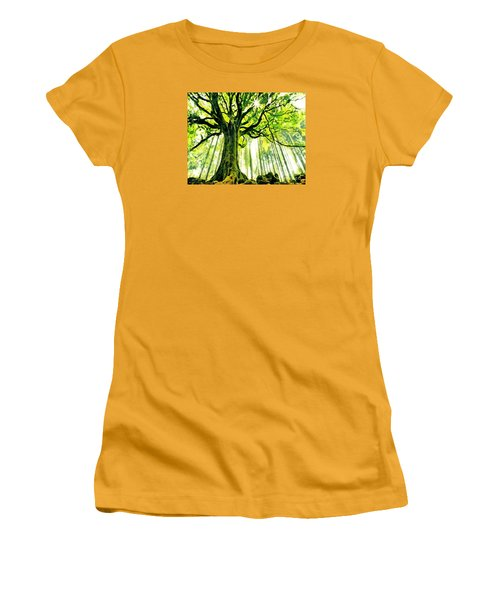 Raised By The Light Women's T-Shirt (Athletic Fit)