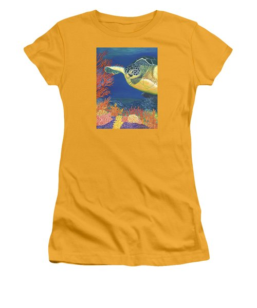 Reef Rider Women's T-Shirt (Athletic Fit)