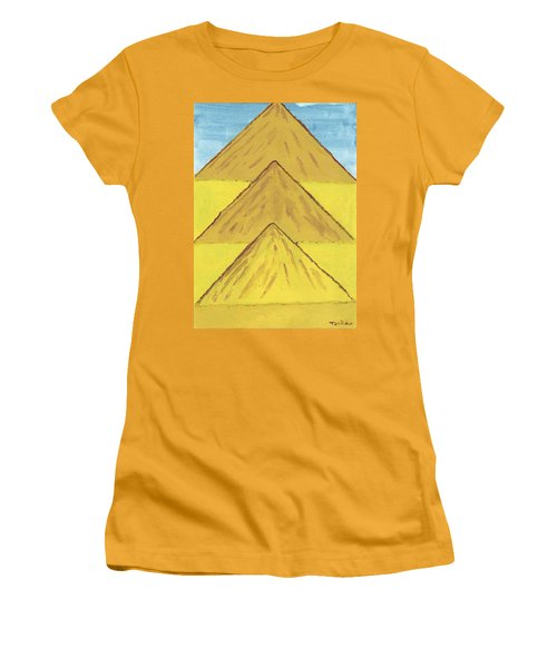 Sand Mountains Women's T-Shirt (Junior Cut) by Tracey Williams