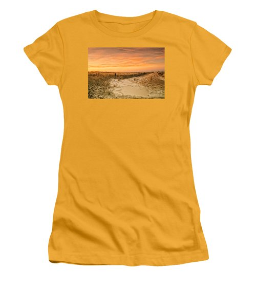 Sandy Road Leading To The Beach Women's T-Shirt (Junior Cut) by Sabine Jacobs