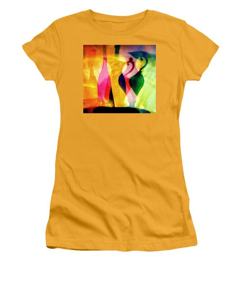 Shades Of Vase And Pitcher Women's T-Shirt (Athletic Fit)