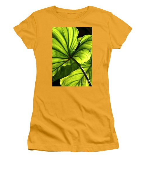 Shapes Of Hawaii 12 Women's T-Shirt (Junior Cut) by Ellen Cotton