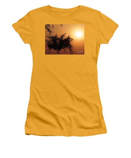 Soft Sunrise Women's T-Shirt (Athletic Fit)