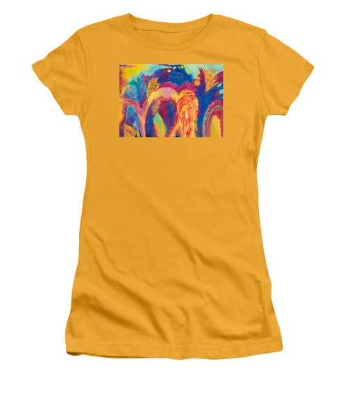 Solar Flares Women's T-Shirt (Athletic Fit)