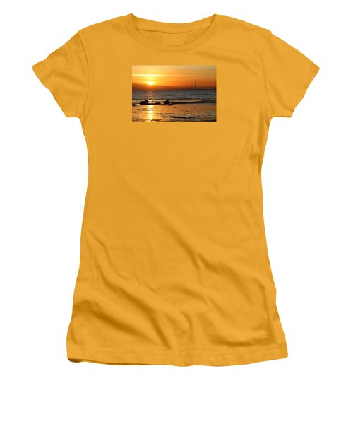 Solar Gold Women's T-Shirt (Athletic Fit)