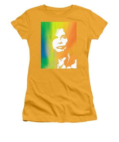 Steven Tyler Canvas Women's T-Shirt (Athletic Fit)