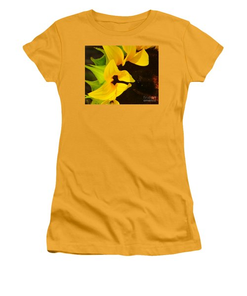Sun Worshipper Women's T-Shirt (Athletic Fit)