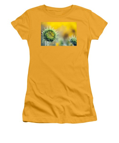 Sunflower Bloom Women's T-Shirt (Athletic Fit)