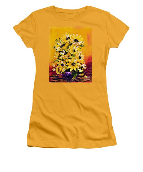 Sunflowers  No.3 Women's T-Shirt (Athletic Fit)