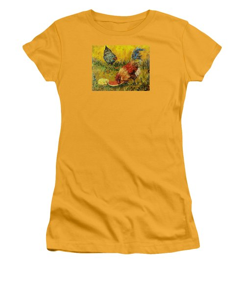 Sweet Pickins, Chickens Women's T-Shirt (Athletic Fit)