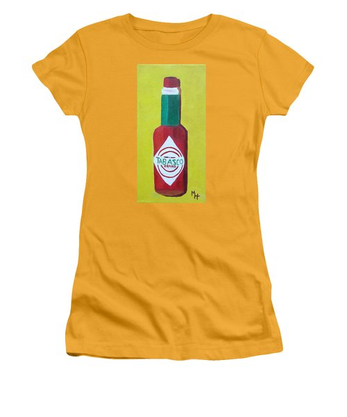 Tabasco Brand Pepper Sauce Women's T-Shirt (Athletic Fit)