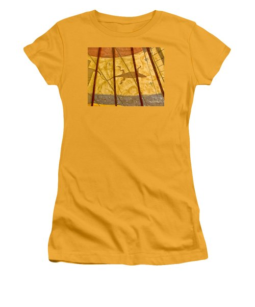 Tee  Pee Women's T-Shirt (Junior Cut) by Gary Warnimont