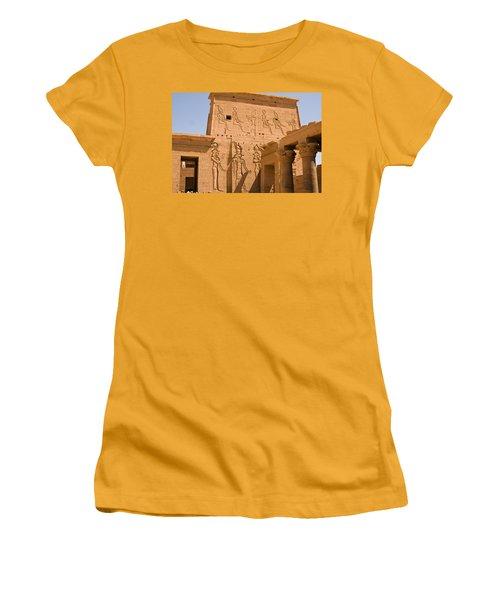 Temple Exterior Women's T-Shirt (Athletic Fit)