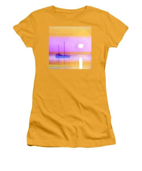 The Drifters Dream Women's T-Shirt (Junior Cut) by Holly Kempe