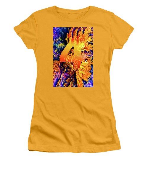 The Four Of Creation Women's T-Shirt (Junior Cut) by Chuck Mountain