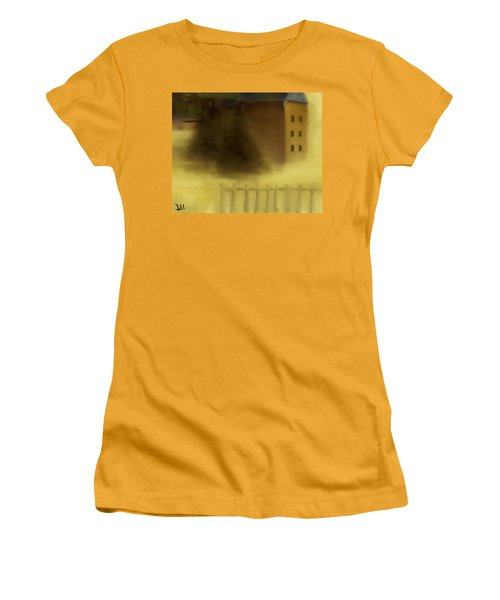 The House Beyond The Fence #c-2 Women's T-Shirt (Athletic Fit)