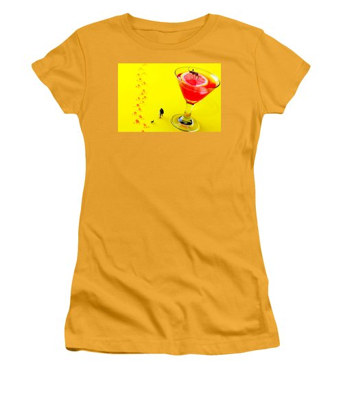 The Hunting Little People Big Worlds Women's T-Shirt (Junior Cut) by Paul Ge