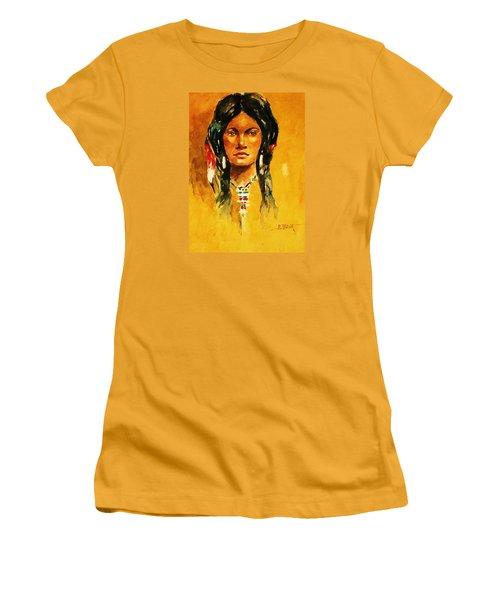 The Maiden Ll Women's T-Shirt (Junior Cut) by Al Brown