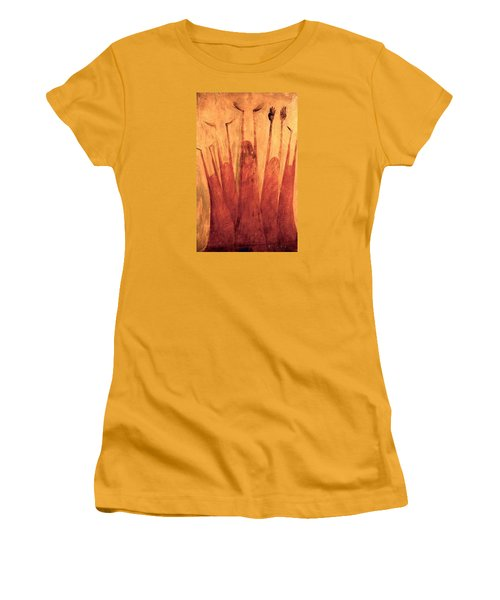 The Tree Of Weeping Women's T-Shirt (Athletic Fit)
