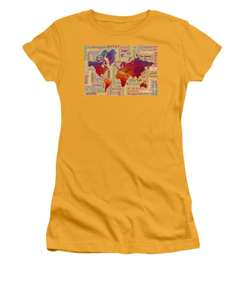 The World Women's T-Shirt (Athletic Fit)