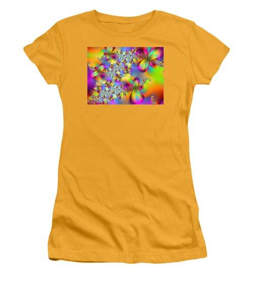 Women's T-Shirt (Junior Cut) featuring the digital art Timeless Elegance by Ester  Rogers