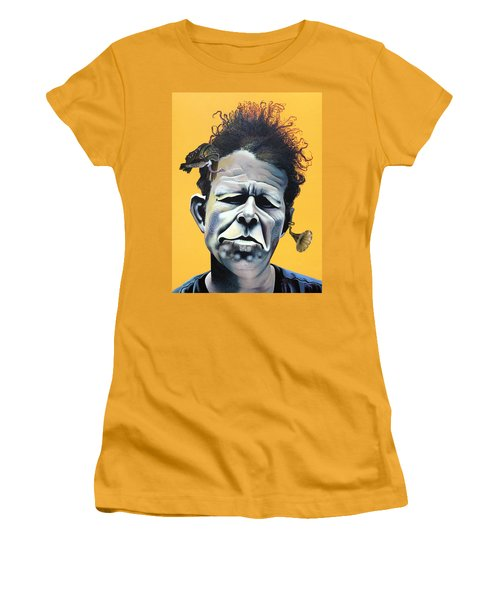 Tom Waits - He's Big In Japan Women's T-Shirt (Junior Cut)