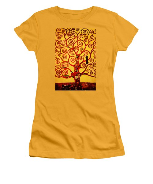 Tree Life Women's T-Shirt (Junior Cut) by Celestial Images