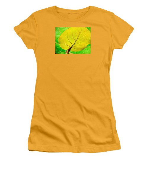 Women's T-Shirt (Junior Cut) featuring the photograph Weathered by Joy Hardee