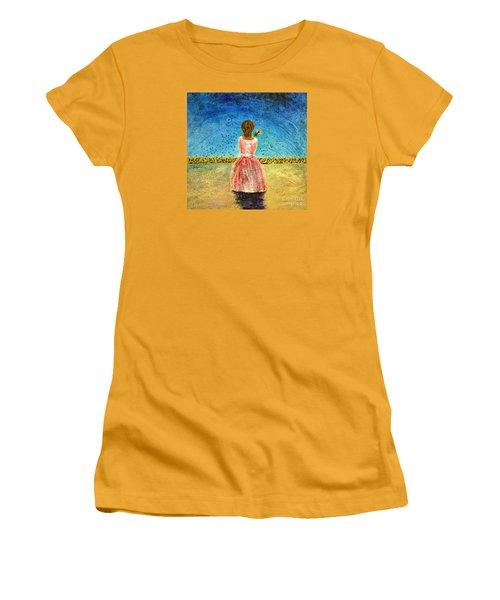 Where Angels Sleep Women's T-Shirt (Junior Cut) by Therese Alcorn