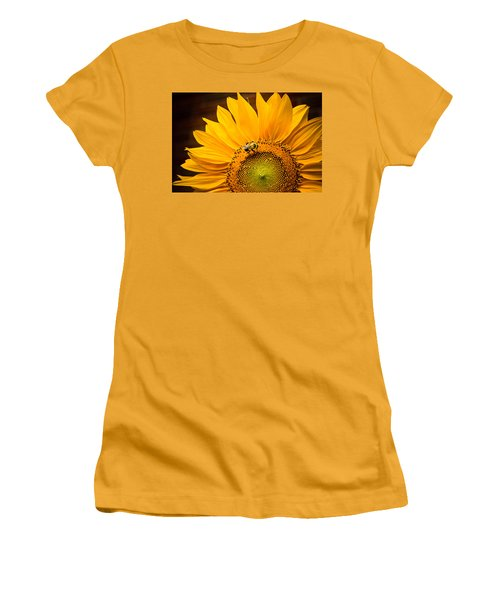 Women's T-Shirt (Junior Cut) featuring the photograph Yellow And Black by Sara Frank