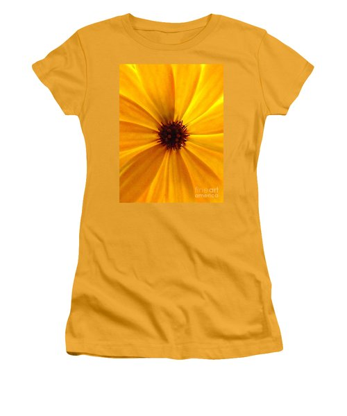 Yellow Splendour Women's T-Shirt (Athletic Fit)