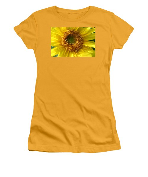 Women's T-Shirt (Junior Cut) featuring the photograph Yellow Sunshine by Neal Eslinger