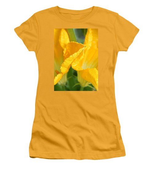 Zucchini Flowers In May Women's T-Shirt (Athletic Fit)