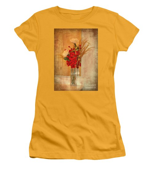 Women's T-Shirt (Junior Cut) featuring the photograph A Rose By Any Other Name by Kathy Baccari