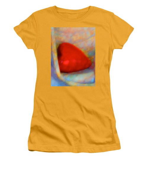 Women's T-Shirt (Junior Cut) featuring the digital art Abundant Love by Richard Laeton