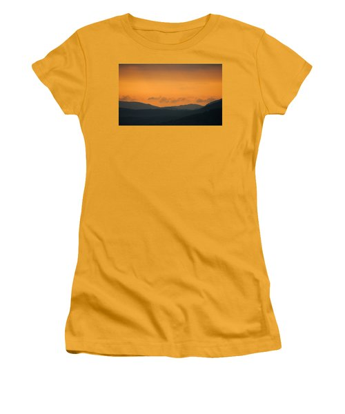 Women's T-Shirt (Junior Cut) featuring the photograph Adirondacks by Steven Richman
