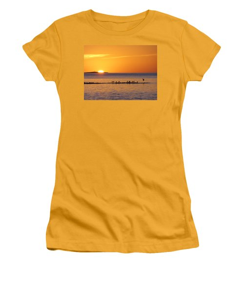 Agua Verde Sunrise Women's T-Shirt (Junior Cut) by Anne Mott