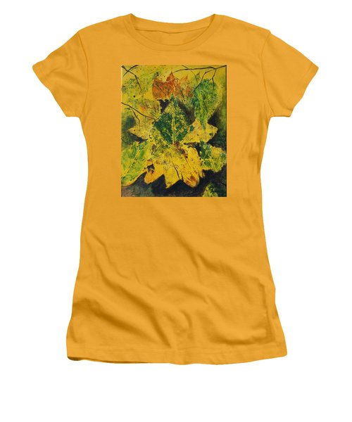 Autumn Boquet Women's T-Shirt (Athletic Fit)