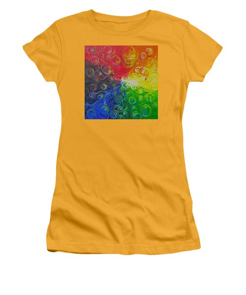 Birth Of Color Women's T-Shirt (Junior Cut) by Jeanette Jarmon