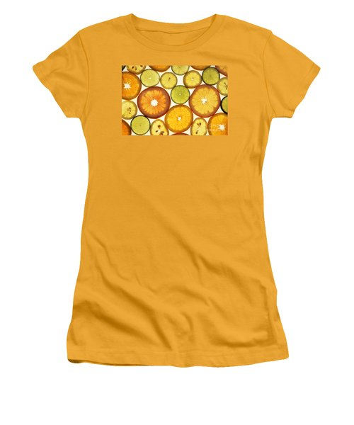 Citrus Slices Women's T-Shirt (Junior Cut)