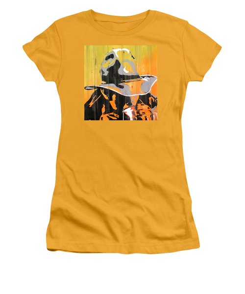 Cowboy Coffee Women's T-Shirt (Athletic Fit)